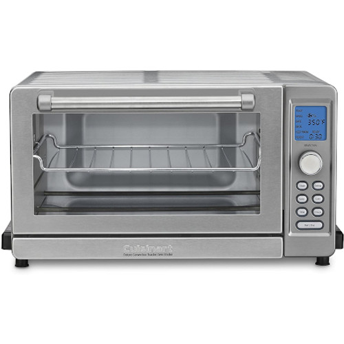 CUISINART TOB135N DELUXE CONVECTION TOASTER OVEN BROILER - Silver