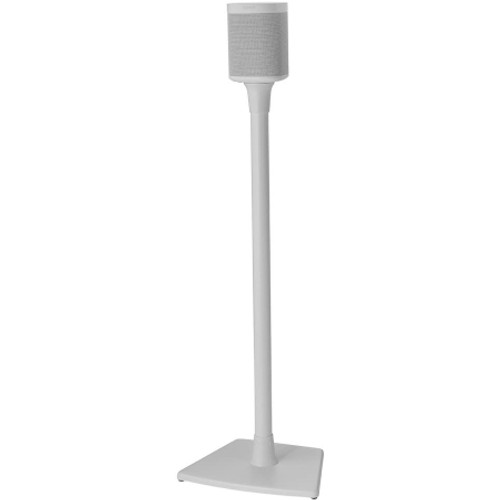 SANUS WSS21W1 Wireless Speaker Stands designed for Sonos One, Sonos One SL, Play:1 and Play:3 - Single (White)