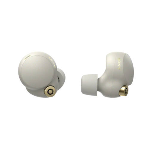 SONY WF1000XM4S Industry Leading Noise Canceling Truly Wireless Earbuds - Silver