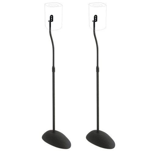 SANUS HTB3B1 Adjustable Speaker Stands for Satellite Speakers
