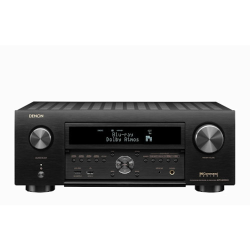DENON AVRX6700H (2020 Model) 11.2 Ch. 8K AV Receiver with 3D Audio, HEOS® Built-in and Voice Control