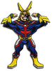 My Hero Academia - All Might Arms Up Patch