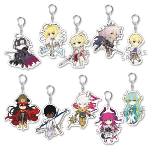 Fate/Grand Order Acrylic Trading Keychains - Vol. 3
