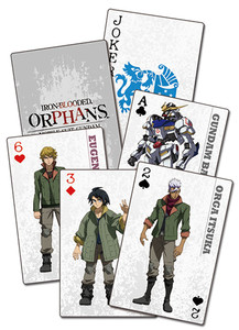 Gundam Iron-Blooded Orphans Playing Cards