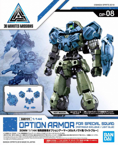 30MM Option Armor for Special Squad 08 (Light Blue)