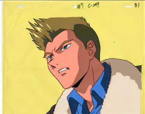 Gundam X - Production Cel 16