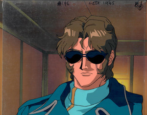 Gundam X - Production Cel 23