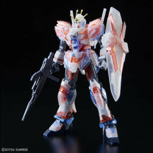 RX-9/C Narrative Gundam C-Packs (Clear Color)