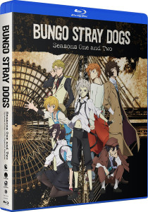 Bungo Stray Dogs Seasons 1 & 2 Blu-Ray