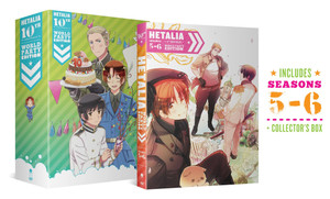 Hetalia 10th Anniversary World Party Collection 2 DVD