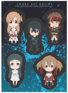 Sword Art Online - SD Smile Sticker Set