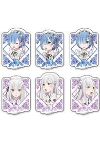 Re:ZERO - Rem & Emilia Die-Cut Sticker Set