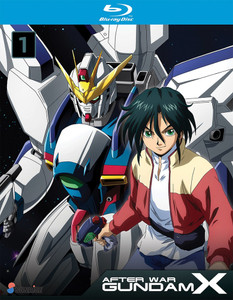 After War Gundam X Collection 1 Blu-ray