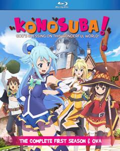 Konosuba Season 1 + OVA Blu-ray