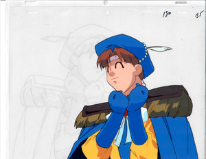 Mon Colle Knights - Production Cel 013