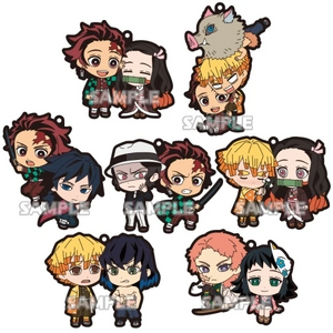 Demon Slayer - Rubber Strap Character Duos
