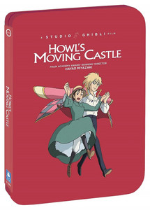 Howl's Moving Castle Steelbook Blu-Ray/DVD