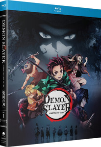 Demon Slayer Kimetsu No Yaiba Part 1 Standard Edition Blu-ray