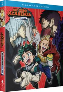 My Hero Academia Season 4 Part 1 Blu-ray/DVD