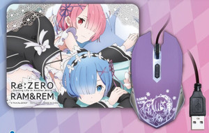 Re:ZERO - Rem Mouse Pad and Mouse Set (Vol. 2 Type B)