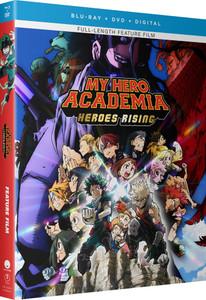 My Hero Academia Heroes Rising Blu-ray/DVD