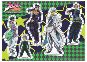 Jojo's Bizarre Adventure - Season 3 Group Sticker Set