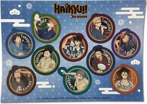 Haikyuu!! -  Bathrobe Sticker Set