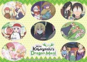 Miss Kobayashi's Dragon Maid - Sticker Set