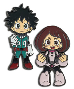 My Hero Academia - Deku and Uravity Pin Set
