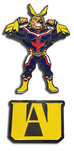 My Hero Academia - U.A. High School and All Might Pin Set