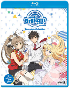 Amagi Brilliant Park Blu-ray