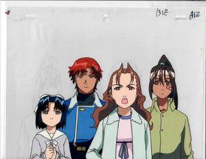 Starship Girl Yamamoto Yohko - Production Cel 05