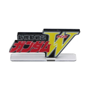 Mobile Suit Gundam Wing - Logo Display Standee