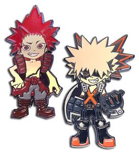 My Hero Academia - Bakugo and Red Riot Pin Set