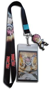 Fairy Tail - Natsu Emblem w/ Fiery Dragon Natsu Strap