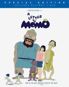 A Letter To Momo Blu-Ray/DVD