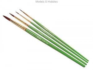 Coloro Brushes - Sizes 00,1,4,8