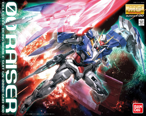Mobile Suit Gundam 00 - GN-0000+GNR-010 00 Raiser