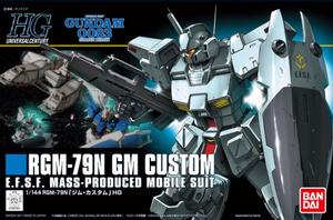 Mobile Suit Gundam 0083 - GM Custom
