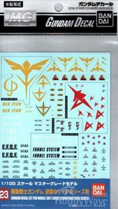 Gundam Decal 023 - Char's Counter Attack