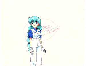 YAT Anshin! Uchu Ryokou - Production Cel 002