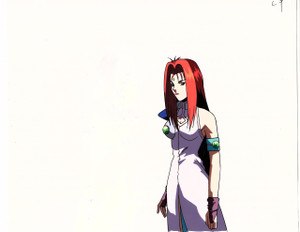 Flame of Recca - Production Cel 03