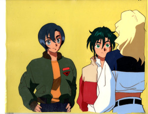 Gundam X - Production Cel 05