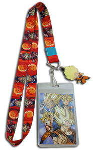 Dragon Ball Super - SD SS Goku Emblem w/ Dragon Balls Strap