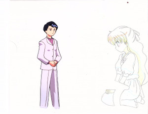 Unidentified Production Cel 16 (Pretty Sammy/Dadada?)
