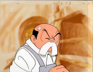 Osamu Tezuka's Fumoon - Production Cel 01