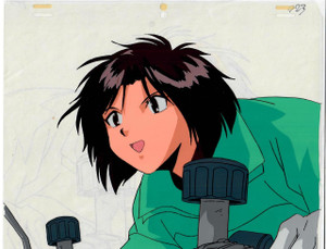 You're Under Arrest - Production Cel 02
