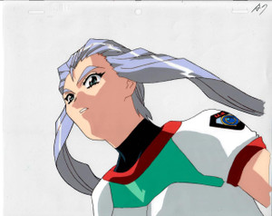 Battle Athletes - Production Cel 18