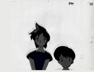 Key the Metal Idol - Production Cel 08