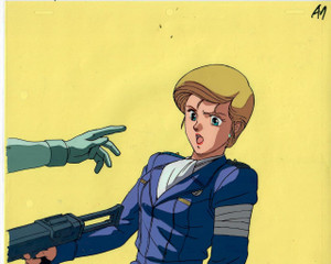 Crusher Joe OVA - Production Cel 01